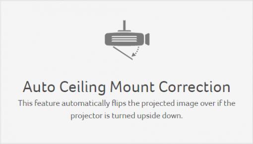 Auto Ceiling Mount Correction