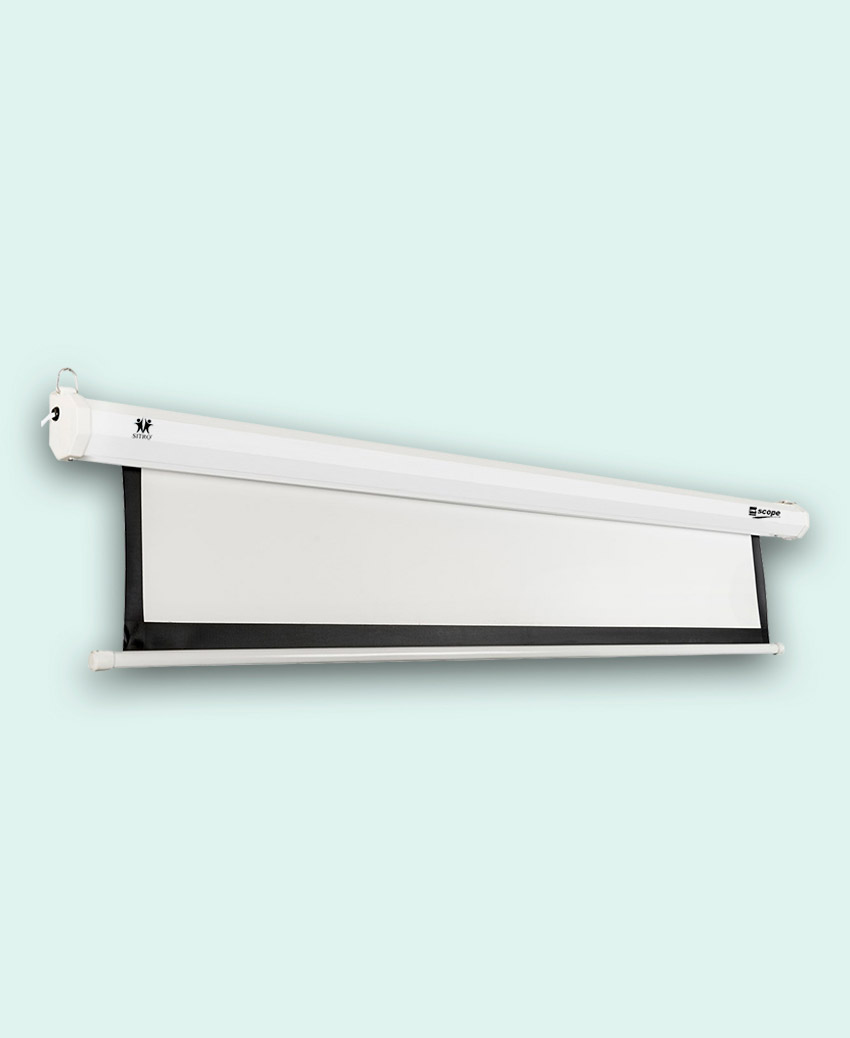 SCOPE - Electric - Projector Screen - 2.5×2.5