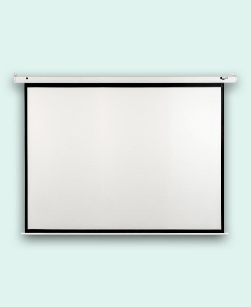 SITRO - Electric - Projector Screen - 4×3 - Matt Whit