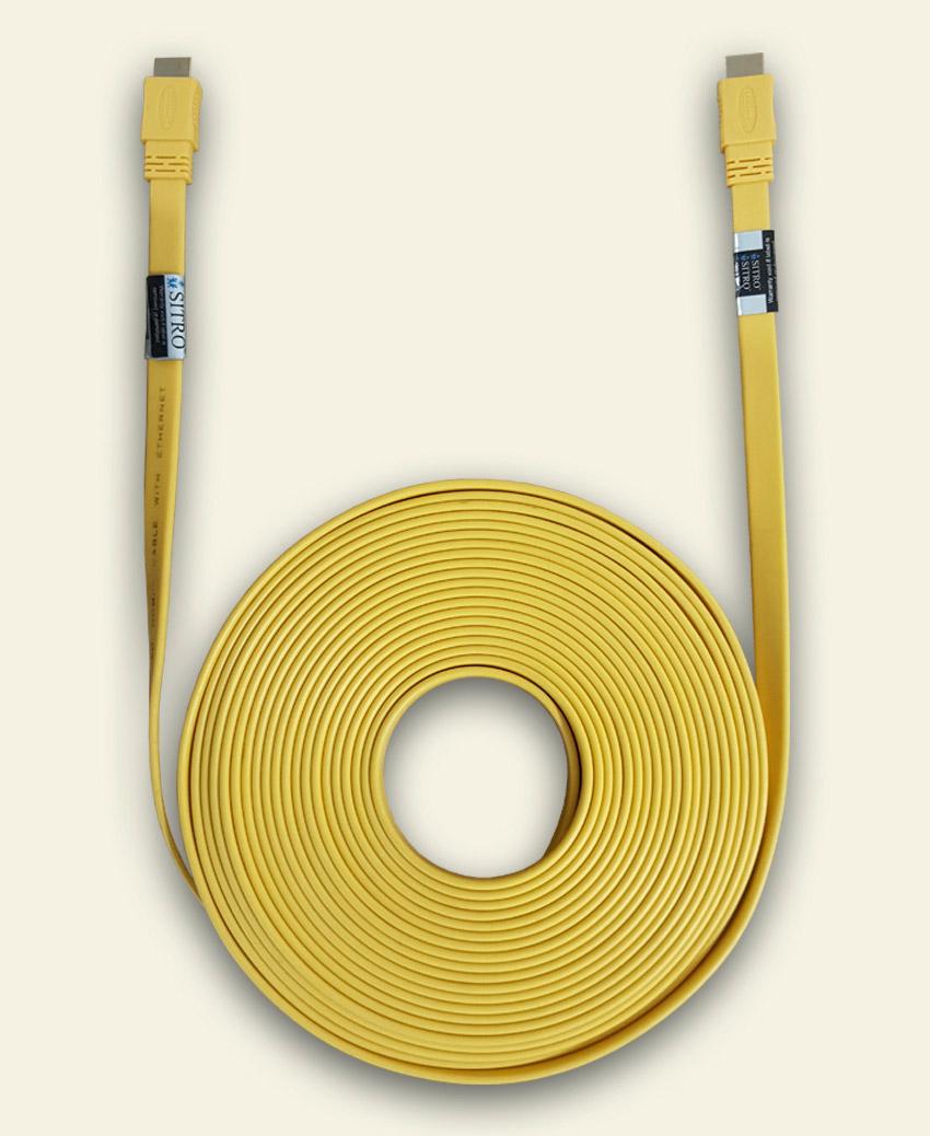 SITRO HDMI Cable -FLAT - Ver 1.4 - 15 m