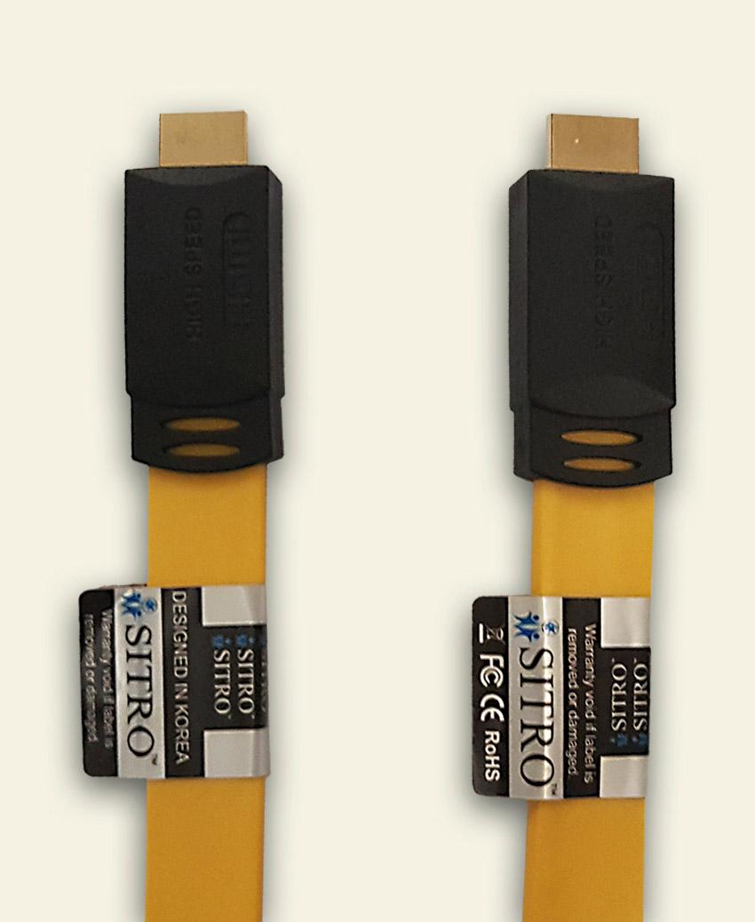 SITRO HDMI Cable -FLAT - Ver 2 - 10 m