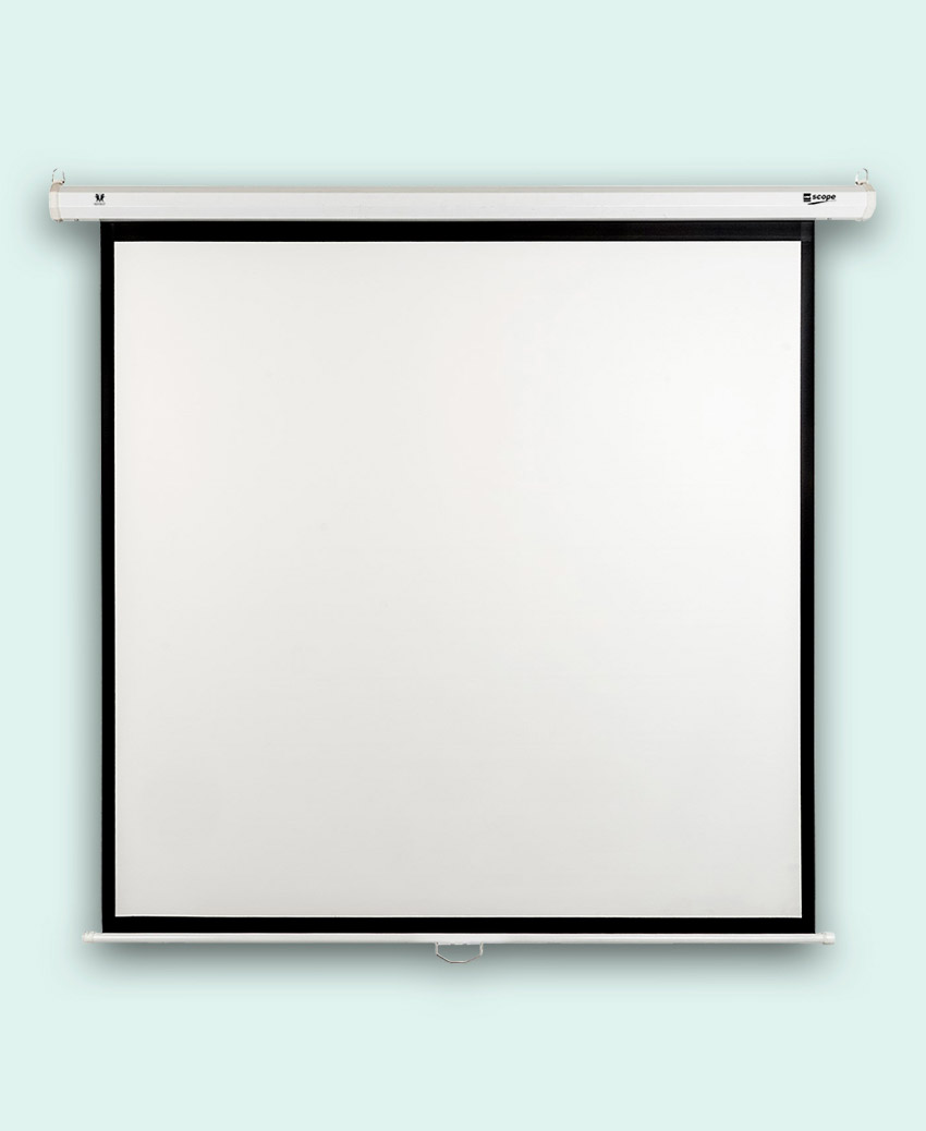 SITRO Manual Projector Screen 2x2 - Fiberglass