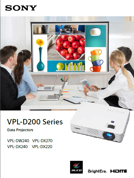 ویدئو پروژکتور سونی مدل SONY VPL-DX220