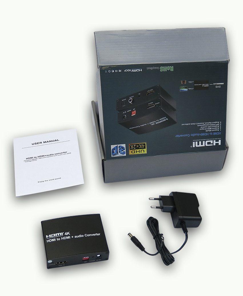 HDMI to HDMI+Audio
