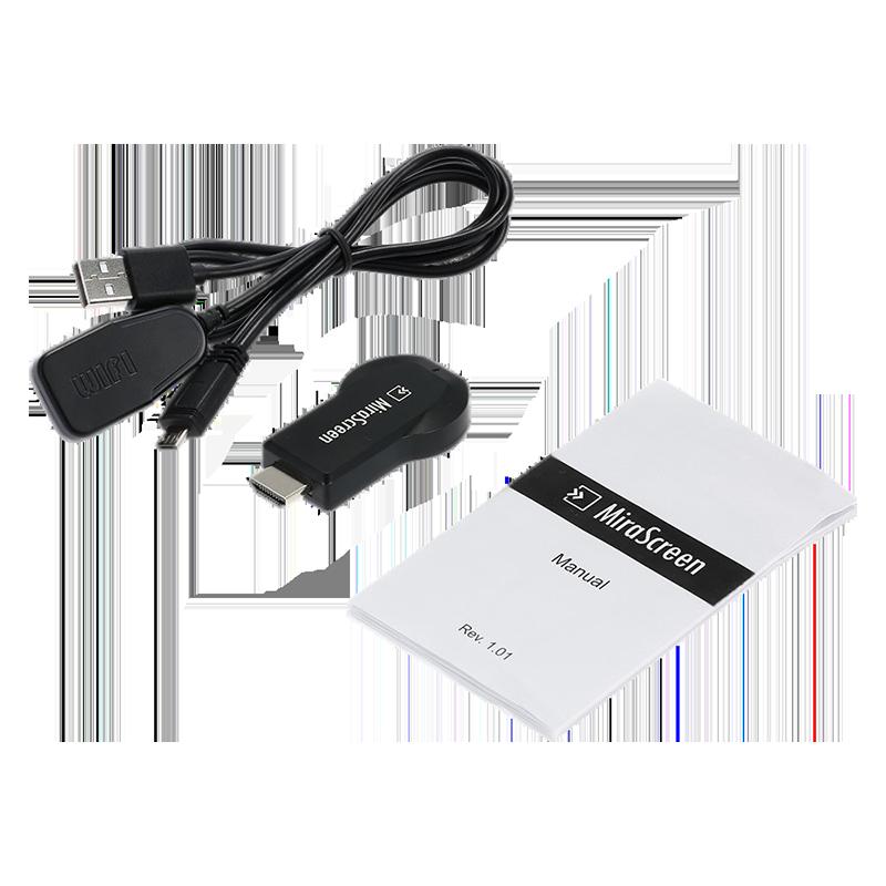 دانگل بی سیم HDMI میرا اسکرین مدل 2.4GHz WiFi Display