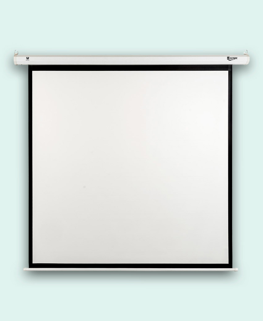 SCOPE - Electric - Projector Screen - 3×3