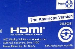ویدئو پروژکتور (NEC VE-303X (Americas Version