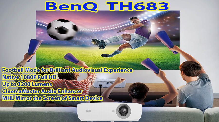 ویدئو پروژکتور بنکیو مدل BenQ TH683