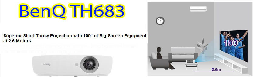 ویدئو پروژکتور بنکیو مدل TH683