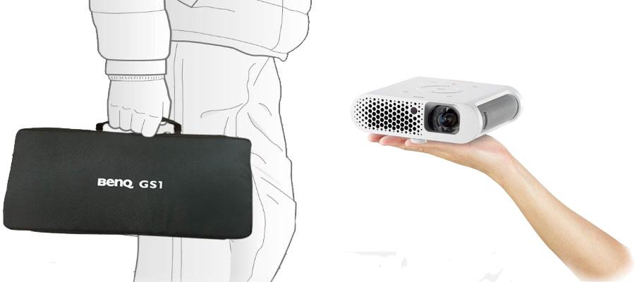 ویدئو پروژکتور قابل حمل بنکیو مدل BenQ GS1