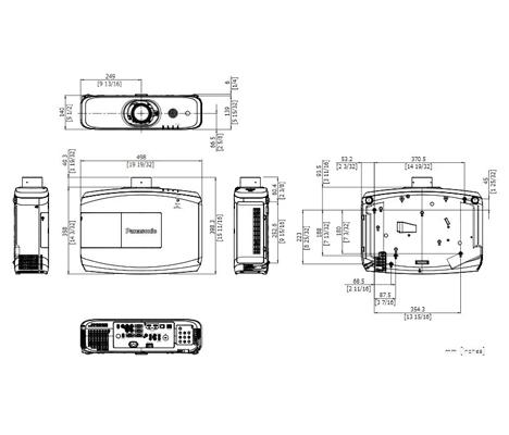 ویدئو پروژکتور پاناسونیک مدل Panasonic PT-EX520