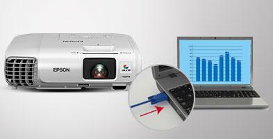 ویدئو پروژکتور اپسون مدل EPSON EB-965