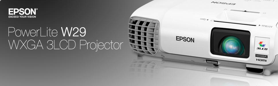 ویدئو پروژکتور اپسون مدل EPSON EB-W29