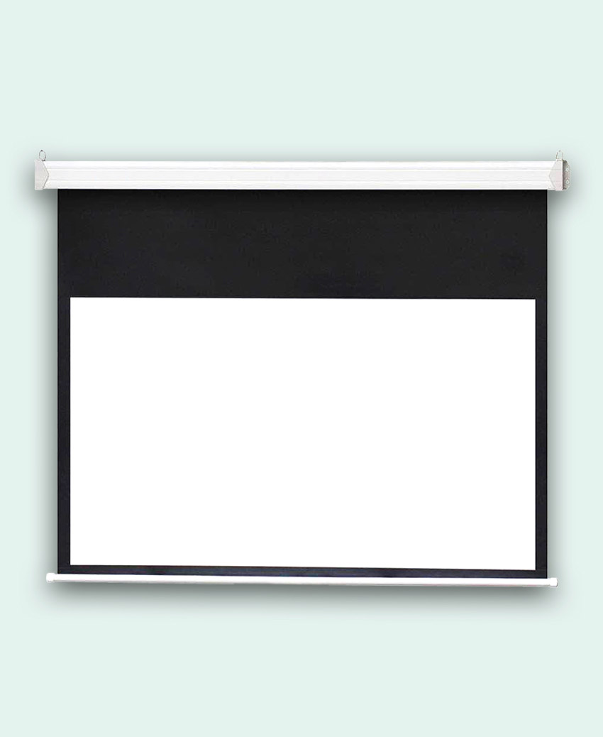 Fujita - Electric - Projector Screen - 148 inch - 4-3
