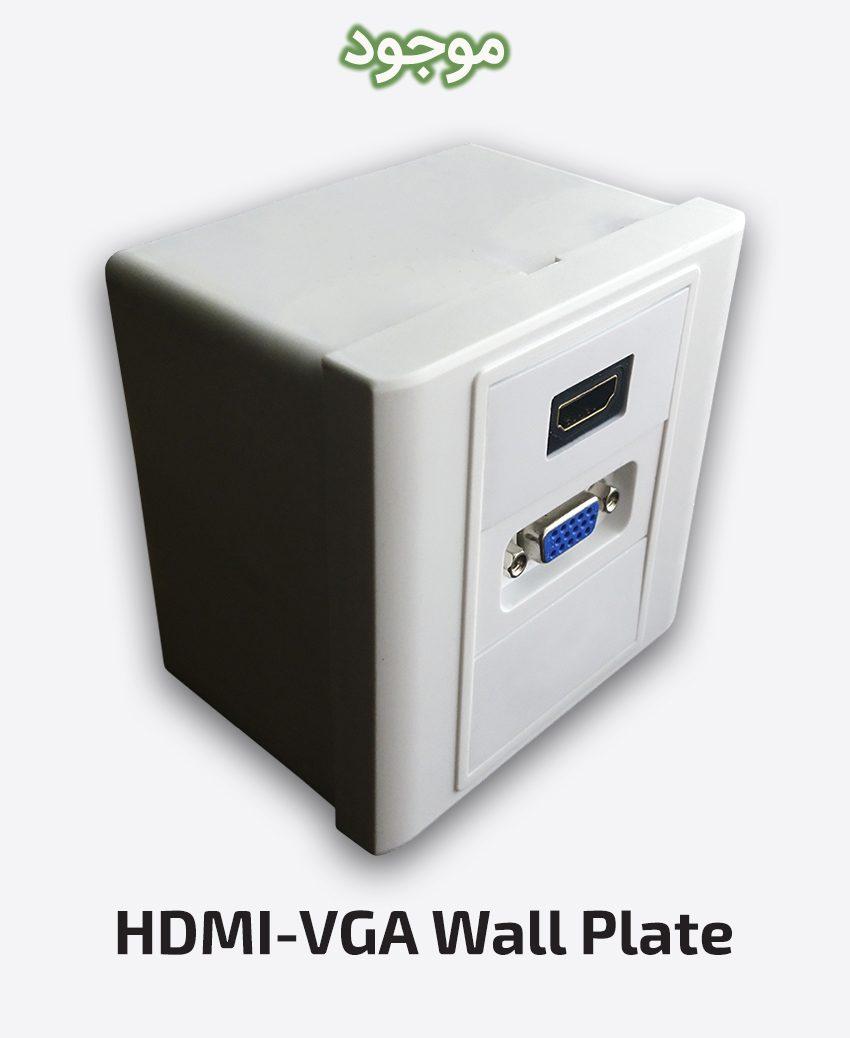 HDMI-VGA Wall Plate