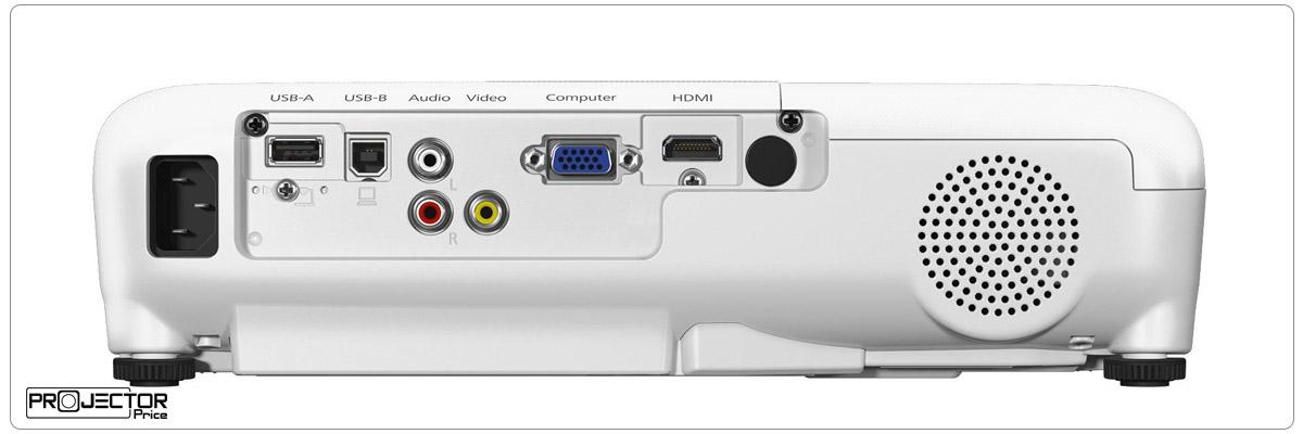 ویدئو پروژکتور اپسون مدل EPSON Home Cinema 760HD