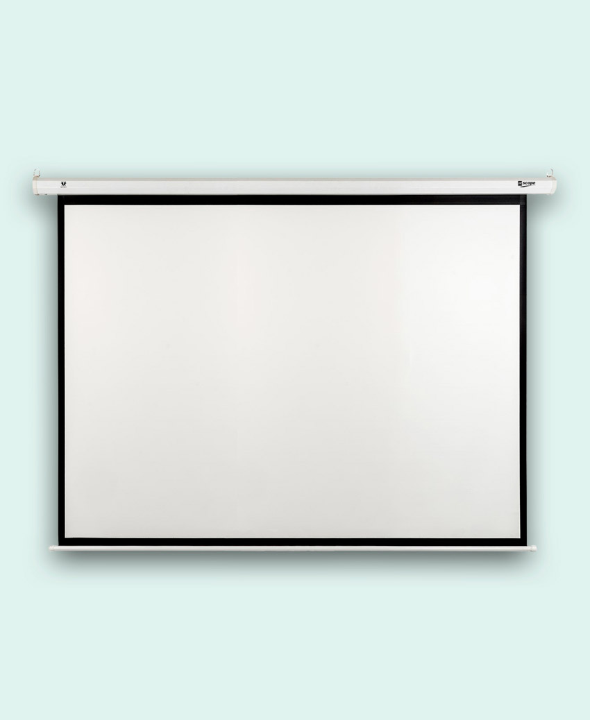SCOPE - Electric - Projector Screen - 6×4