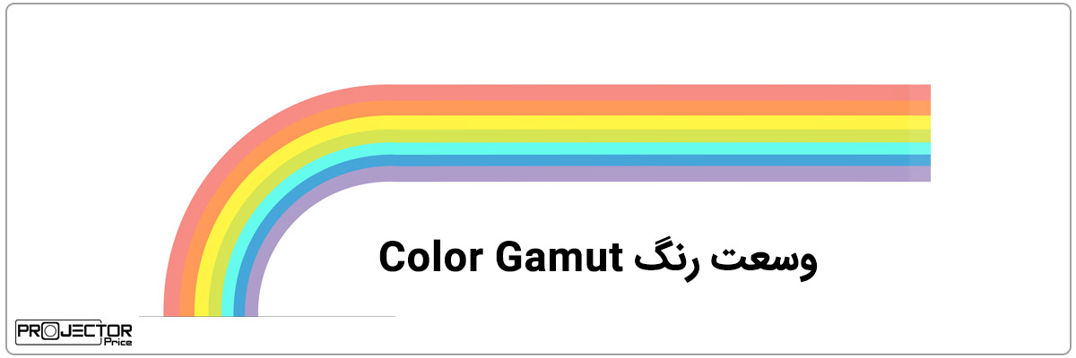 وسعت رنگ Color Gamut