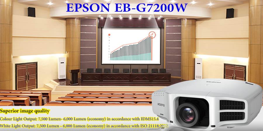 ویدئو پروژکتور اپسون مدل EB-G7200W