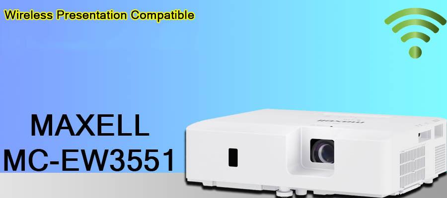 ویدئو پروژکتور مکسل مدل maxell MC-EW4051