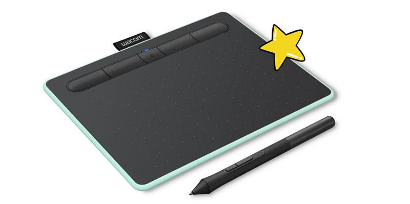 قلم نوری وکام مدل Wacom Intuos CTL-4100