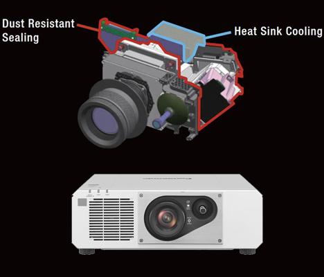 ویدئو پروژکتور Panasonic PT-RZ570